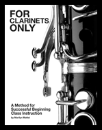 Clarinet Fingering Chart Book