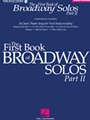 1st Book Of Broadway Solos