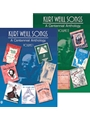 Kurt Weill Songs  Set Of Vols 1 & 2