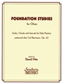 Foundation Studies For Oboe