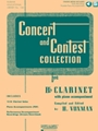 Concert & Contest Collection -- Clarinet