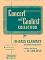 Concert & Contest Coll--Bass Clarinet