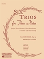 6 Trios For 3 Flutes  Op 83