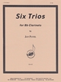 6 Trios For 3 Clarinets