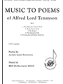 Music to Poems of Alfred Lord Tennyson - Set I