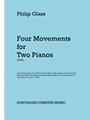 Four Movements For 2 Pianos