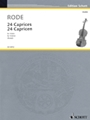 24 Caprices in the form of Etudes, in all 24 Keys