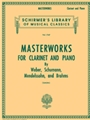 Masterworks For Clarinet & Piano