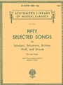 50 Selected Songs By Schubert,...