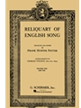 Reliquary Of English Song Vol 1