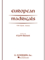 European Madrigals For Equal Voices