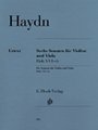 6 Sonatas For Violin & Viola Hob 6 - 1-6