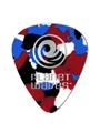 Picks--flat  Pw Celluloid Standard - Multi-color/medium . - 25-pack