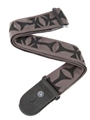 Strap--guitar  Polypro Cross - Nylon W/leather Ends - 44mm