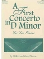 First Concerto In D Minor