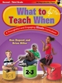 What to Teach When - Grades 2-3