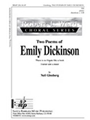 2 Poems Of Emily Dickinson