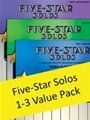 Five-Star Solos Value Pack Bk 1-3