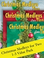 Christmas Medleys for Two PIP packet