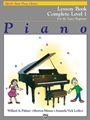 Alfred Basic Lesson Book Complete Later Beginner Level 1 MIDI