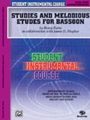 Studies & Melodious Etudes  Bassoon