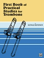 1st Book Of Practical Studies  Trombone