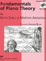 Fundamentals Of Piano Theory Teacher's Answer Book Prep