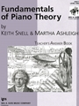 Fundamentals Of Piano Theory Teacher's Answer Book 1