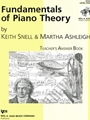 Fundamentals Of Piano Theory Teacher's Answer Book 4
