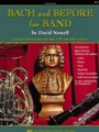 Bach & Before For Band  Book 1