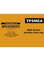 TPSMEA HS All State Choir Packet