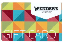 50$ Pender's Gift Card