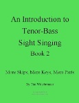 Introduction to Tenor-Bass Sight Singing Book 2