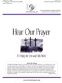 Hear Our Prayer - A Trilogy for Lent and Holy Week