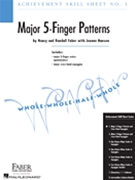 Achievement Skill Sheet #1 Major 5 Finger Patterns