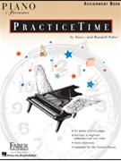 Piano Adventures Practice Time Assignment Book