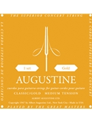 String--guitar  Augustine Classic Gold - Light/light - Clear/gold-plated