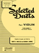 Selected Duets For Violin Vol 1