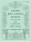 8 Bel Canto Songs  Piano Accomp Bk B