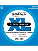 String--guitar  D'addario Xl150h - Custom - Nickel/round
