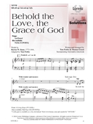 Behold the Love the Grace of God