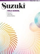 Suzuki Viola School Vol 3 Book Revised