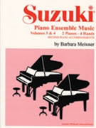 Suzuki Piano Ensemble Music Vol 3 & 4