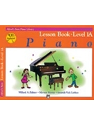 Alfred Basic Lesson Book Level 1A Bk/CD