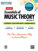 Essentials Of Music Theory  Version 3  Student Volume 1