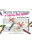 Note Pictures: A Coloring Notespeller